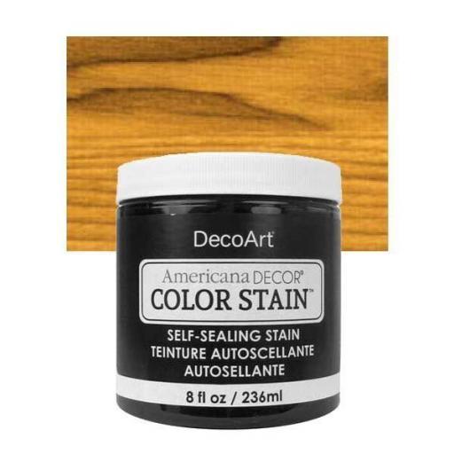 AMERICANA DECOR COLOR STAIN ®  REF.:  ADCS 10 MIEL DORADA  236 ML