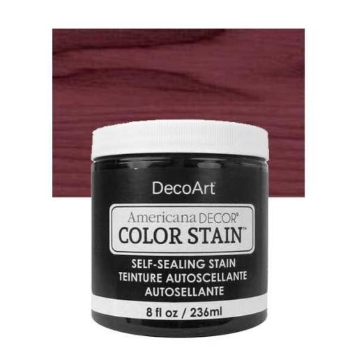 AMERICANA DECOR COLOR STAIN ®  REF.:  ADCS  18 BAYA OSCURO 236 ML