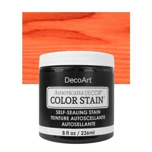 AMERICANA DECOR COLOR STAIN ®  REF.:  ADCS 09 TANGELO  236 ML