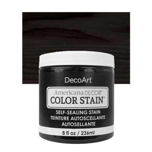 AMERICANA DECOR COLOR STAIN ®  REF.:  ADCS 01 NEGRO  236 ML