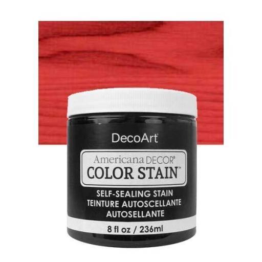 AMERICANA DECOR  COLOR STAIN ®   REF.: ADCS 05 ROJO REAL   236 ML