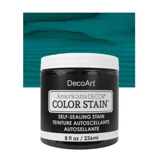 AMERICANA DECOR COLOR STAIN ®  REF.:  ADCS  15 TURQUESA  236 ML