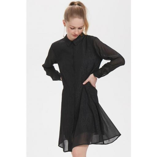 DENIM HUNTER MODELO DH MOLLY MY DRESS REF 10702585 COLOR 36000 BLACK