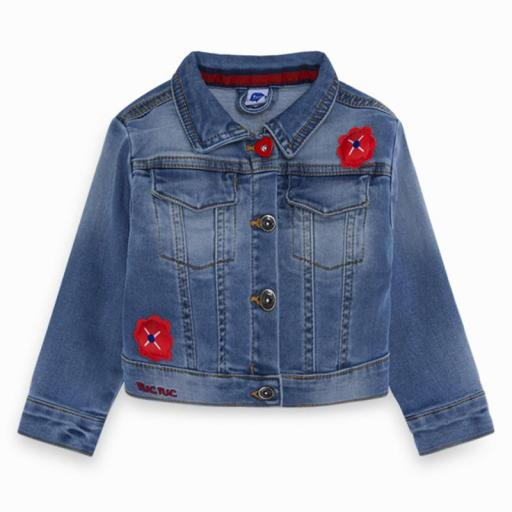 CHAQUETA DENIM BOLSILLOS NIÑA  SEA RIDERS REF: 11280334