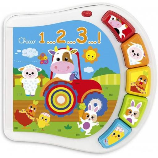 CHICCO TOYS BOOK COUNTING FARM