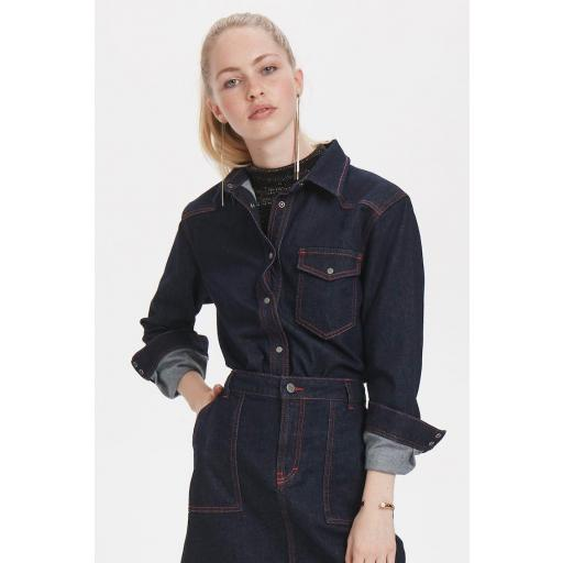 DENIM HUNTER MODELO DH DINA SHIRT REF 10702634 COLOR 31626 DENIM BLUE