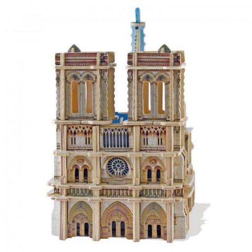 PUZZLE 3D SCULPTURE NOTRE DAME DE PARIS  [1]