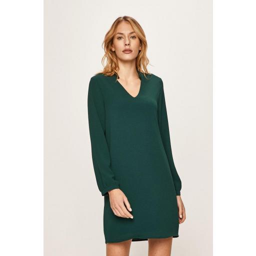 VERO MODA VM FILUKKA LS SHORT DRESS WVN  -LCS COLOR PONDEROSA PINE - DTM SEQUIN REF. 10221701