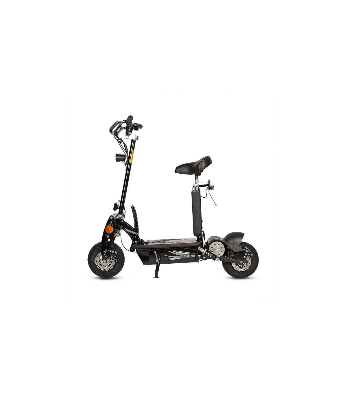 Patinete-Scooter Eléctrico, negro, plegable, 1000W, matriculable - Referencia: ROCKET-A/BLACK