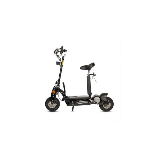 Patinete-Scooter Eléctrico, negro, plegable, 1000W, matriculable - Referencia: ROCKET-A/BLACK [0]