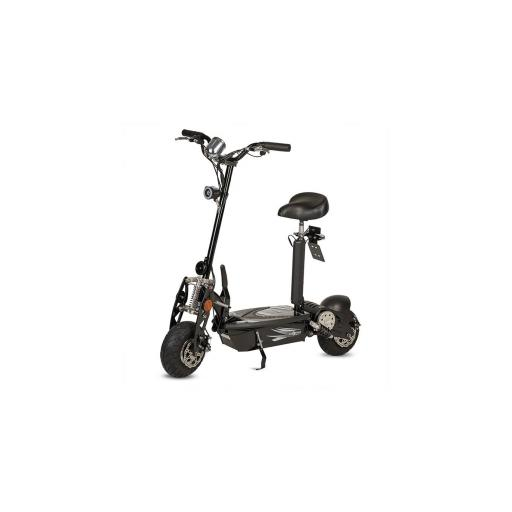 Patinete-Scooter Eléctrico, negro, plegable, 1000W, matriculable - Referencia: ROCKET-A/BLACK [3]