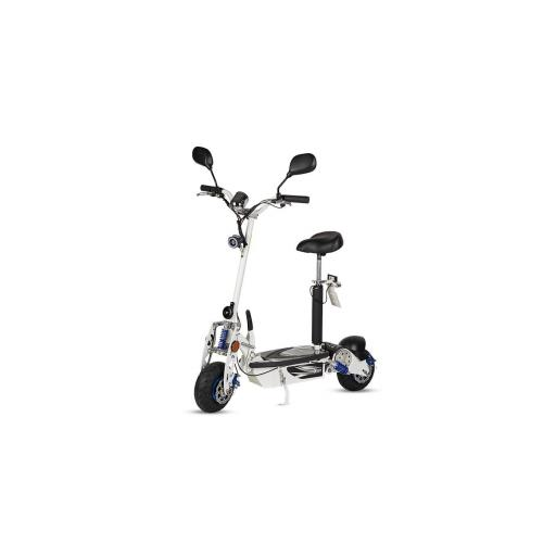 Patinete-Scooter Eléctrico, negro, plegable, 1000W, matriculable - Referencia: ROCKET-A/BLACK [2]