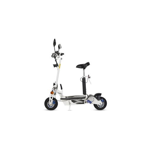 Patinete-Scooter Eléctrico, negro, plegable, 1000W, matriculable - Referencia: ROCKET-A/BLACK [1]
