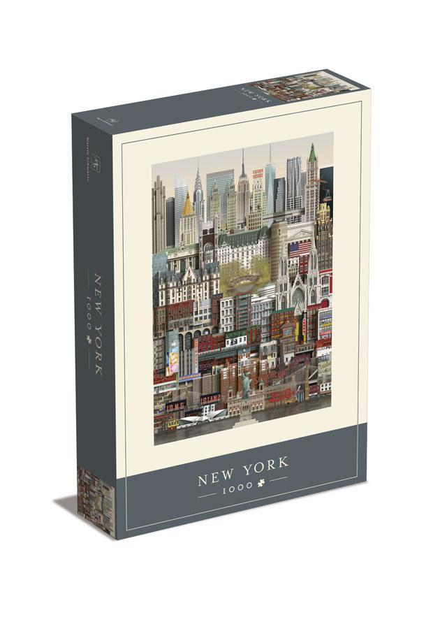 MARTIN SCHWARTZ  PUZZLE NEW YORK 1000 PIEZAS