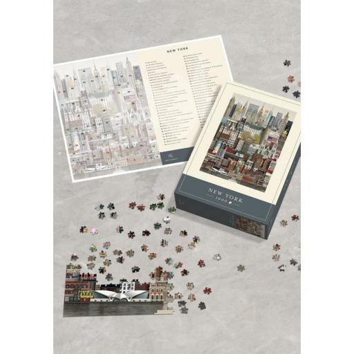 MARTIN SCHWARTZ  PUZZLE NEW YORK 1000 PIEZAS  [2]