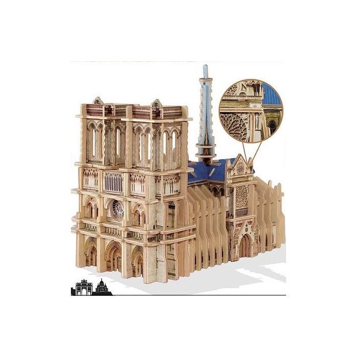 PUZZLE 3D SCULPTURE NOTRE DAME DE PARIS