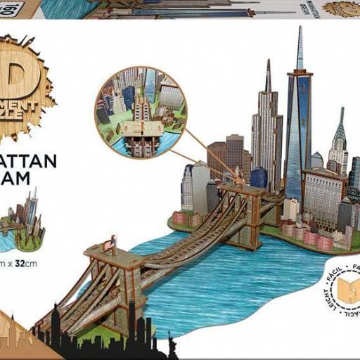 MANHATTAN DREAM PUZZLE 3D [1]