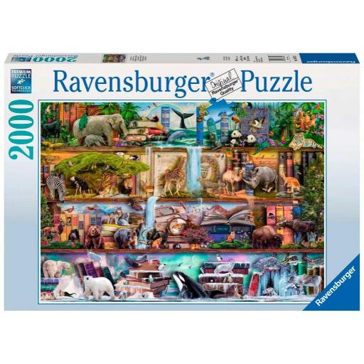 RAVENSBURGER REF 166527 ANIMALES SALVAJES  2000 PIEZAS