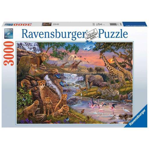 RAVENSBURGER REF 164653 EL REINO ANIMAL 3000 PIEZAS