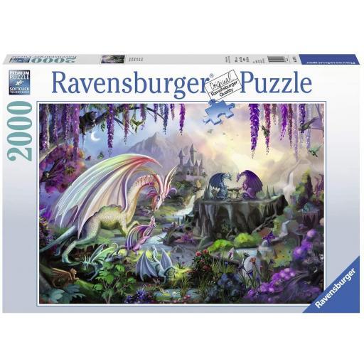 RAVENSBURGER REF 167074  VALLE DEL DRAGON  2000 PIEZAS
