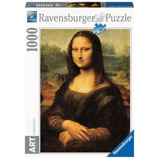 RAVENSBURGER ART COLLECTION LA GIOCONDA LEONARDO DA VINCI  1.000 PIEZAS  *** ESTE PUZZLE TIENE UN PLAZO ENTREGA MIN. 15 DIAS ***