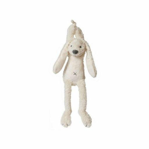 Happy Horse - Rabbit Richie - Musical Pull Toy - Ivory 34cm