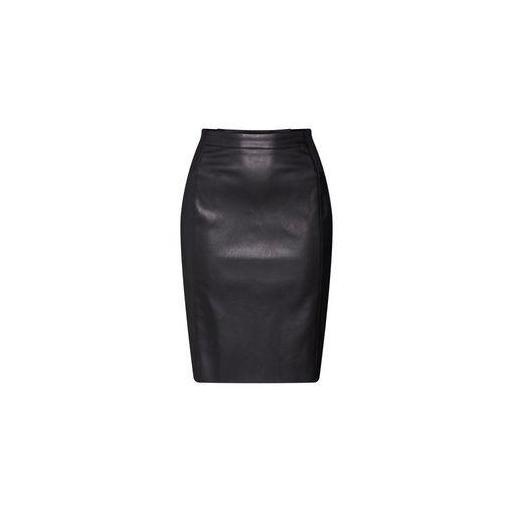 VERO MODA VMBUTTER S-A HW COATED SKIRT NOOS COLOR BLACK  10218187