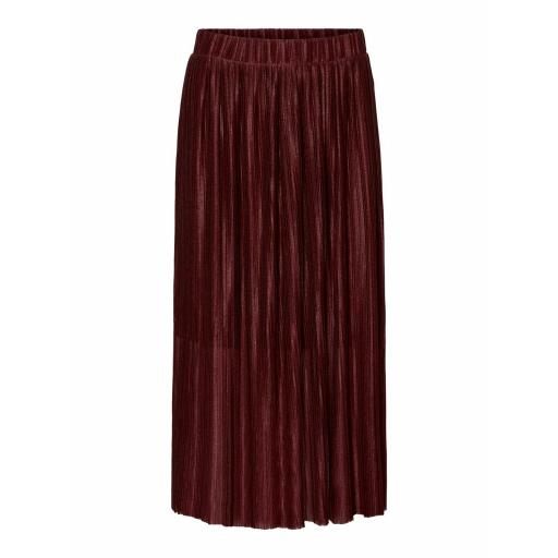 VERO MODA VMSELINE PLOSSE SKIRT FD19 COLOR PORT ROYALE GRANATE REF 10230990