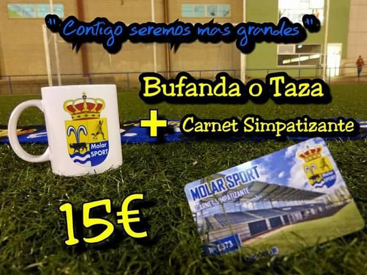 Carnet simpatizante Platino 15 €