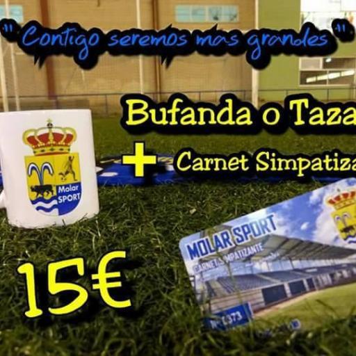 Carnet simpatizante Platino 15 €  [0]