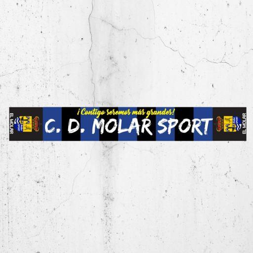 BUFANDA DE MOLAR SPORT