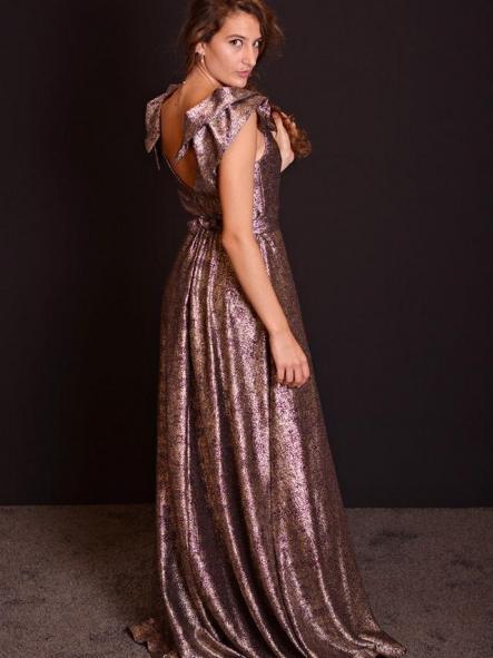 Vestido de fiesta largo. Modelo Fedra. [2]