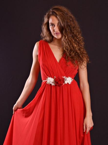 Vestido de fiesta largo. Modelo Roma [2]