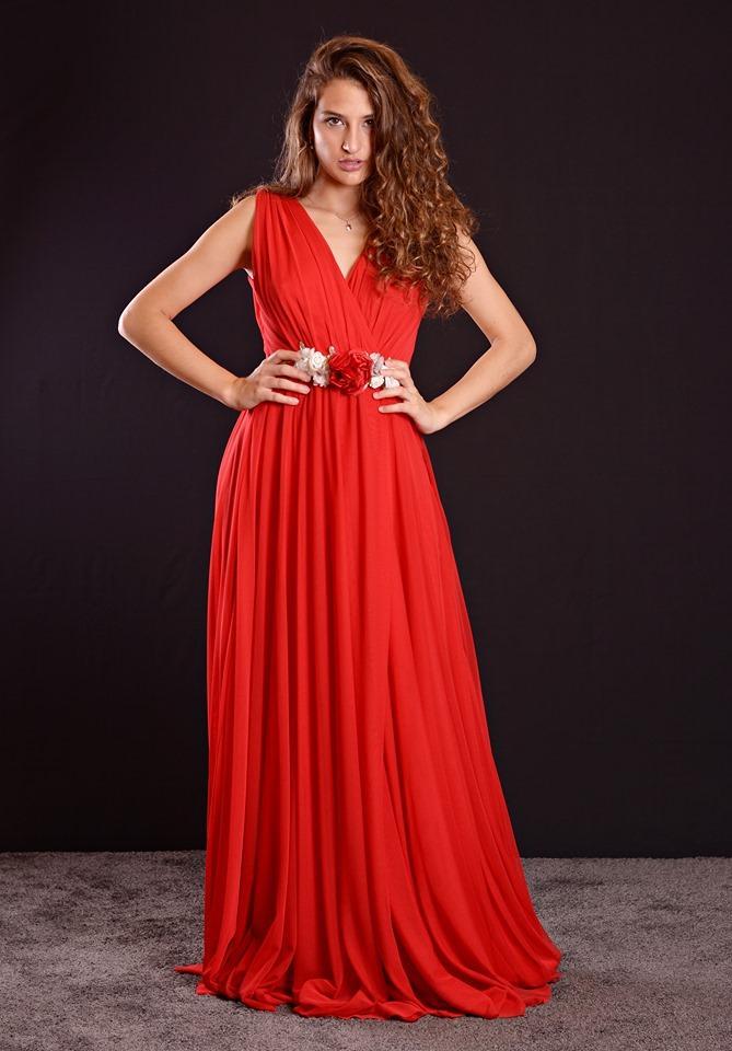 Vestido de fiesta largo. Modelo Roma