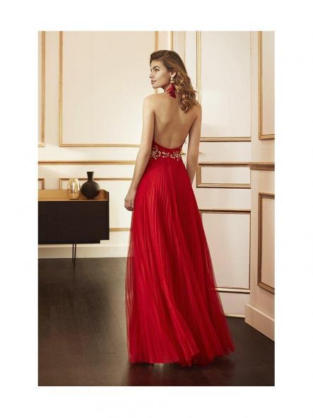 Vestido  de fiesta largo. Modelo Enma [1]