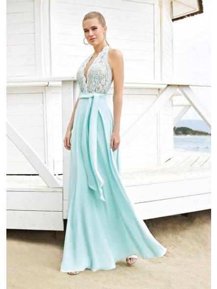 Vestido de fiesta largo. Modelo Amor.