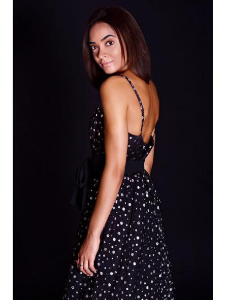 Vestido de fiesta largo. Modelo Anuska. [1]