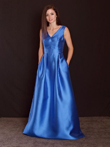 Vestido de fiesta largo. Modelo Gisela. [1]