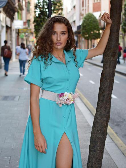 Vestido de fiesta largo. Modelo Isadora. [1]