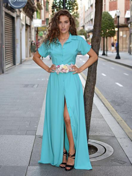 Vestido de fiesta largo. Modelo Isadora. [2]