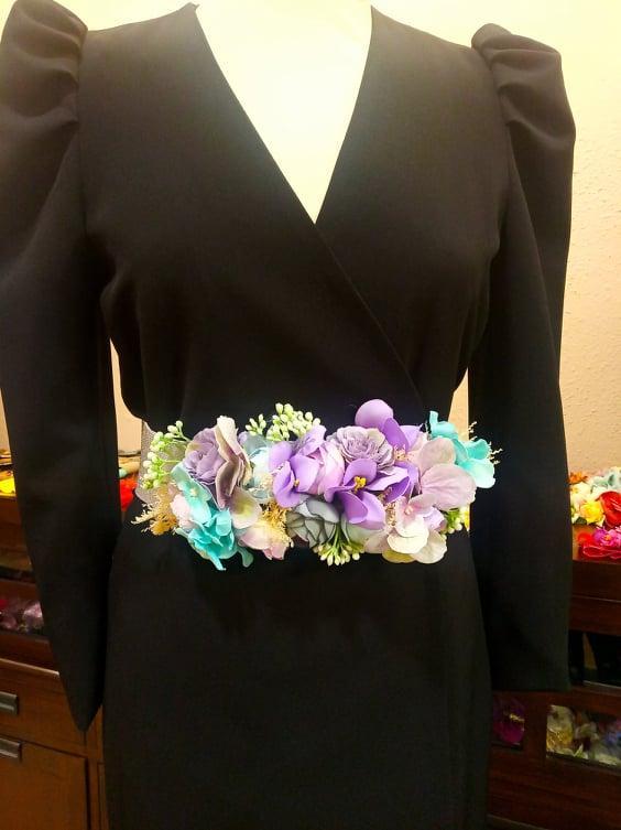 Cinturón de flores.