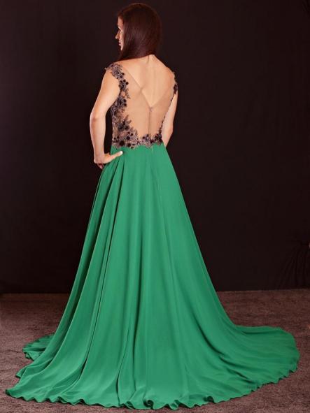 Vestido de fiesta largo.Modelo Saba. [1]