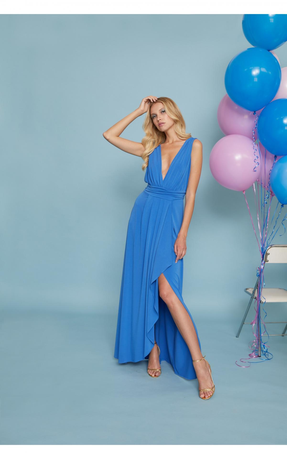 Vestido de fiesta largo. Modelo Giovanna.