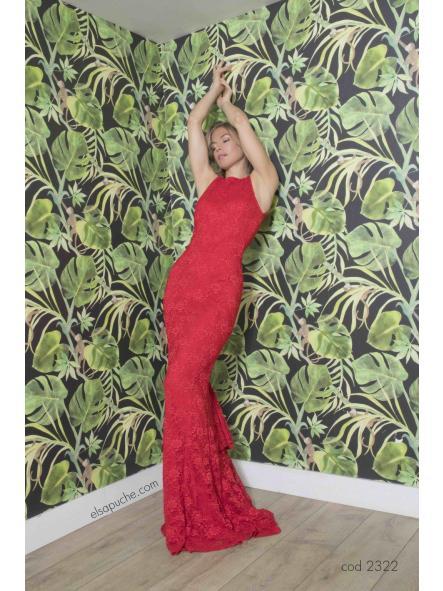 Vestido de fiesta largo. Modelo Carlota. [1]