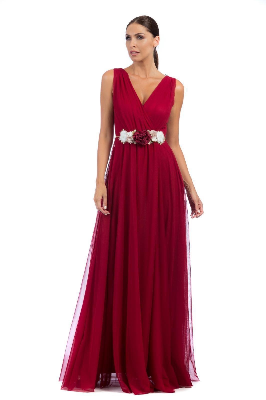 Vestido de fiesta largo. Modelo Roma.