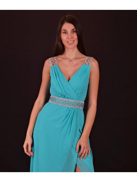 Vestido de fiesta largo. Modelo Mariola.