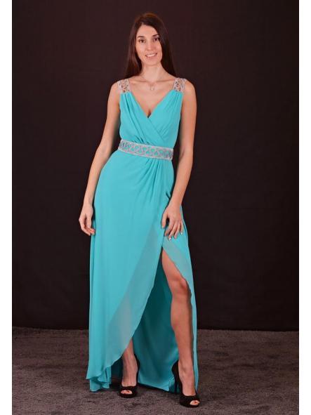 Vestido de fiesta largo. Modelo Mariola. [1]