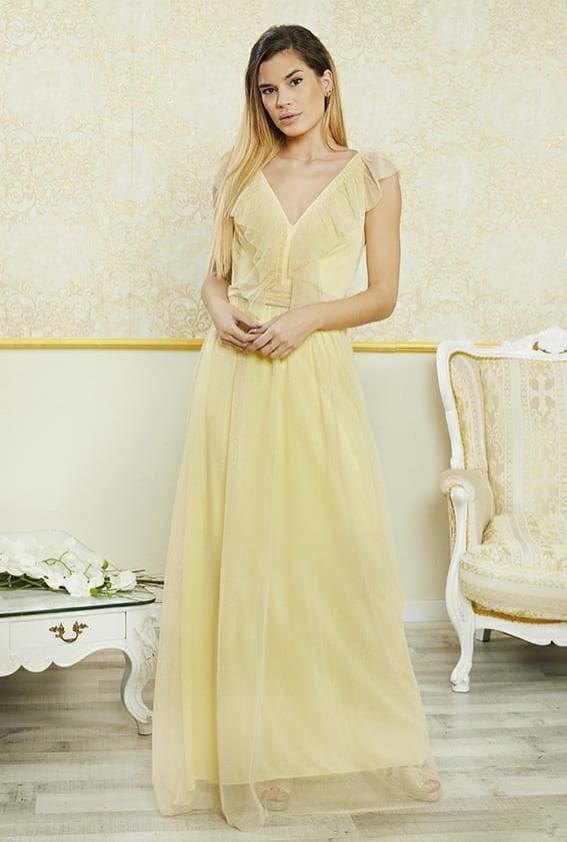 Vestido de fiesta largo. Modelo  Valeria