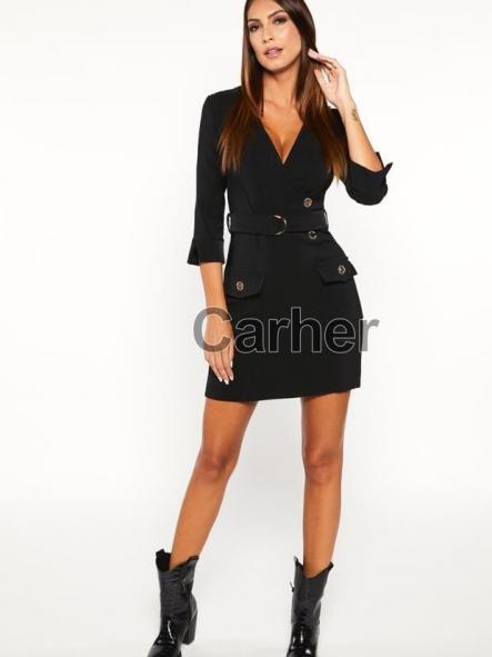 Vestido corto. Modelo Black.  Colección casual
