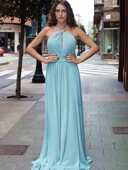Vestido de fiesta largo. Vestido Grecia [1]